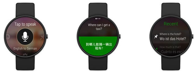 Translator-on-Android-Wear