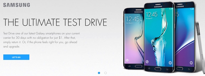 Ultimate test drive samsung