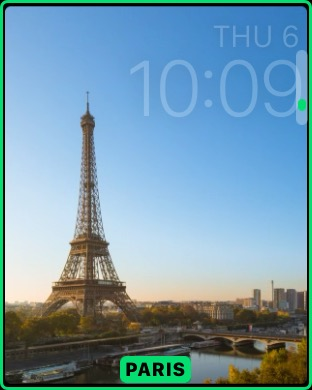 parigi apple watch