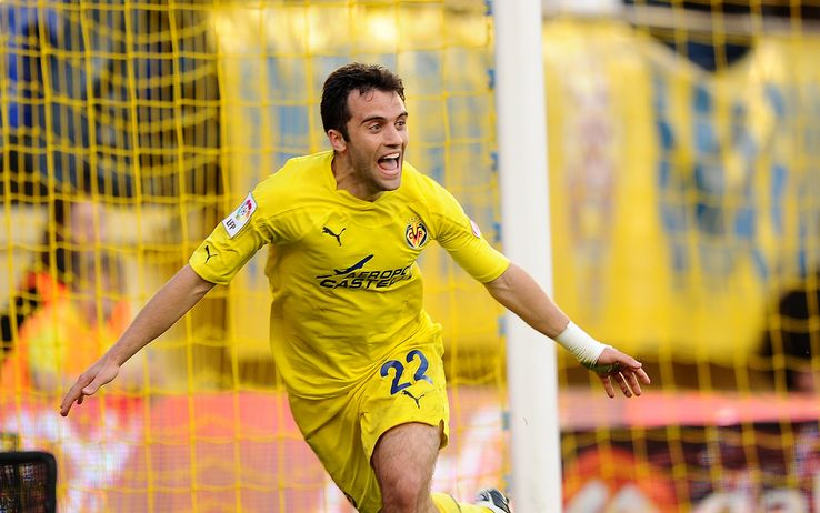 Rossi con la maglia del Villareal.