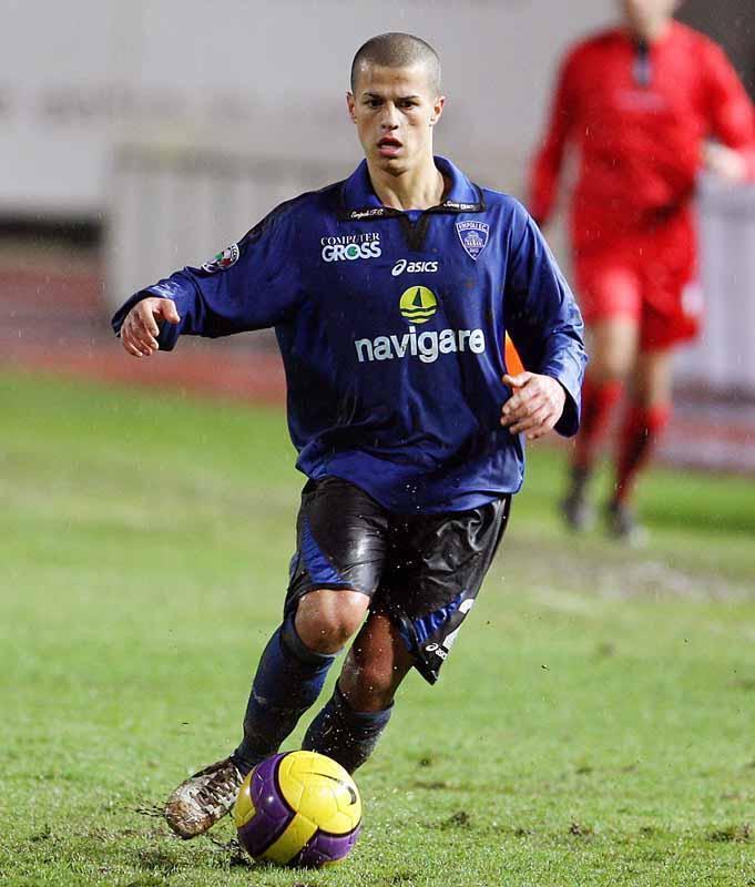 Un giovanissimo Giovinco con la maglia dell'Empoli.