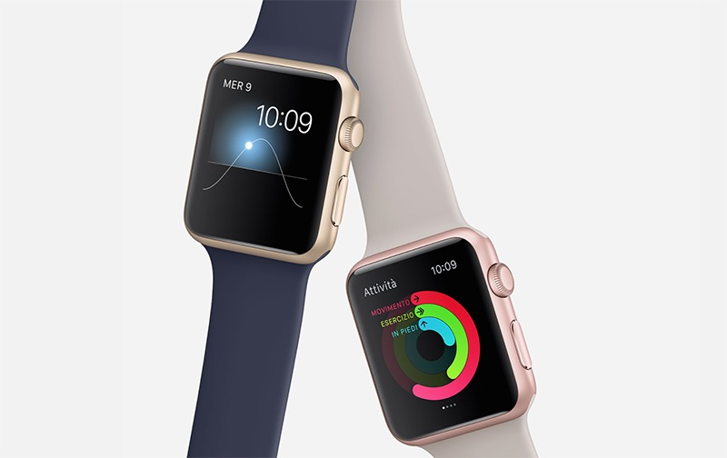 Apple Watch oro e rosa