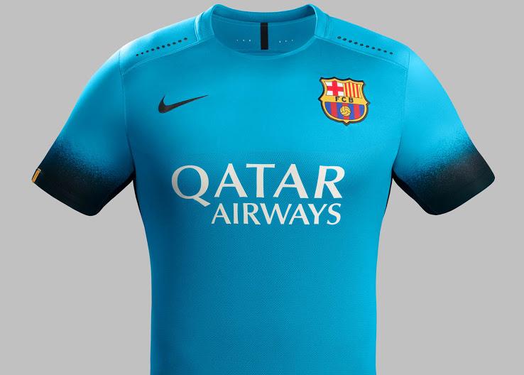 Barcellona terza maglia