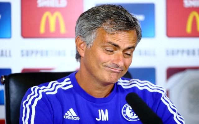 Il tecnico del Chelsea Josè Mourinho
