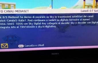 canali mediaset sky