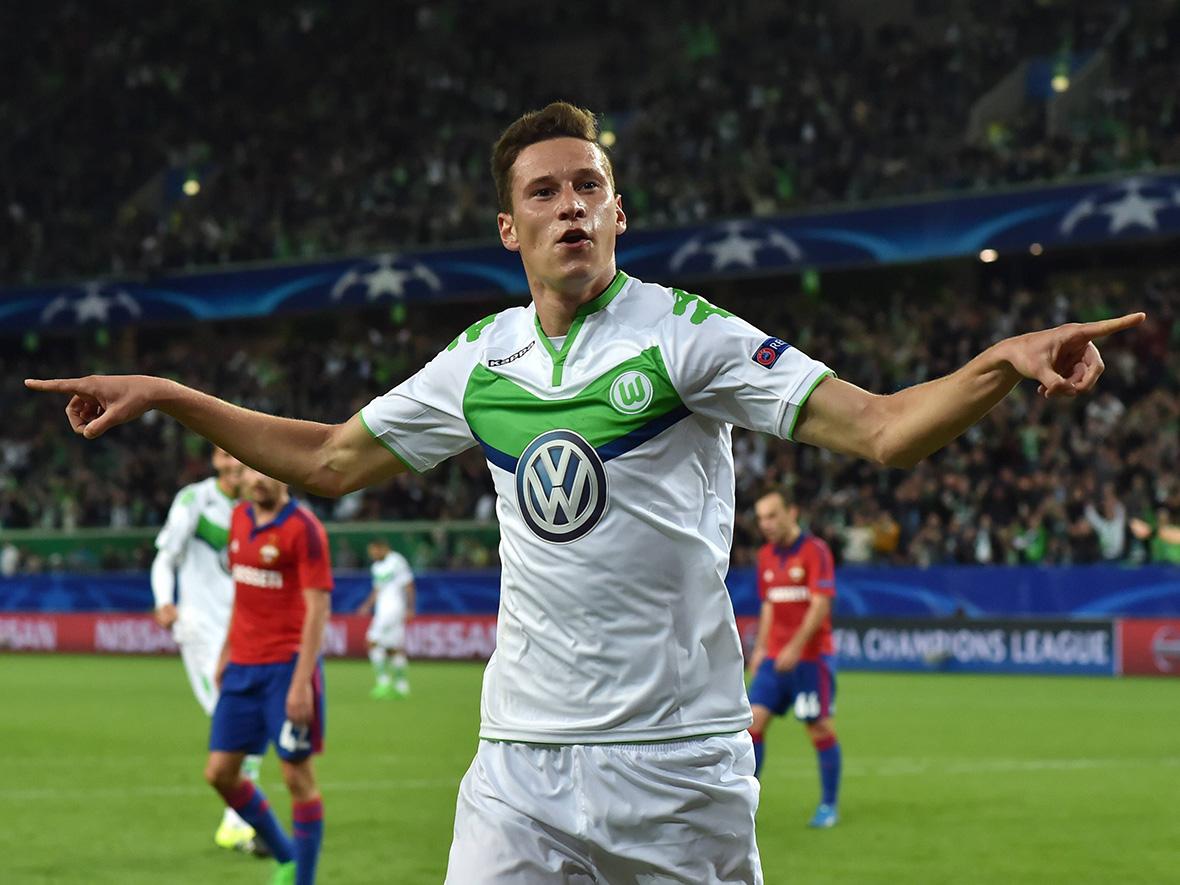 Draxler, ex obiettivo della Juve protagonista della vittoria del Wolfsburg.