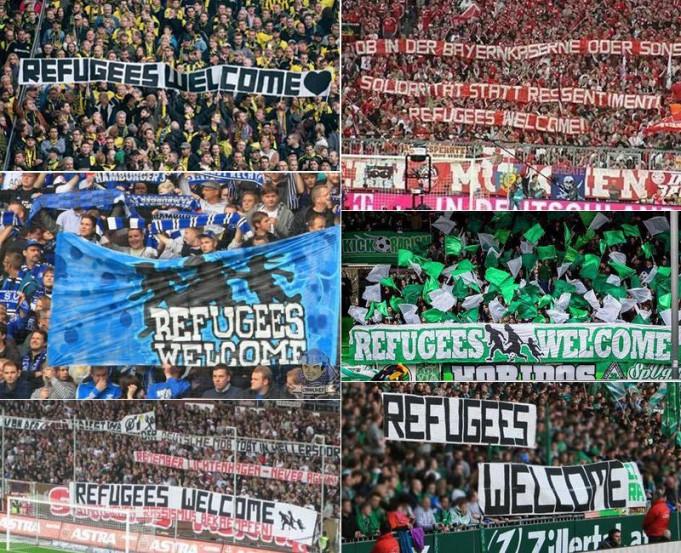 Rifugiati Striscioni