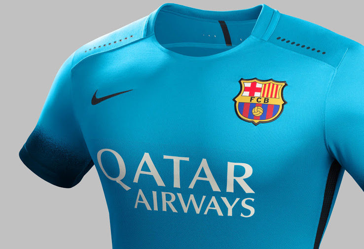Seconda Maglia FC Barcelona 2016