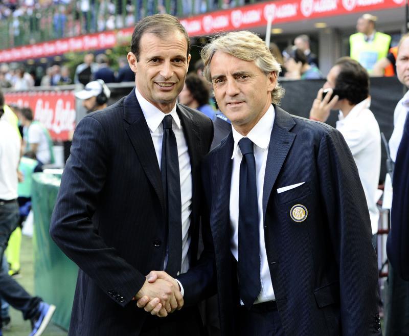 La sfida fra Juventus e Inter è soprattutto Allegri vs Mancini.