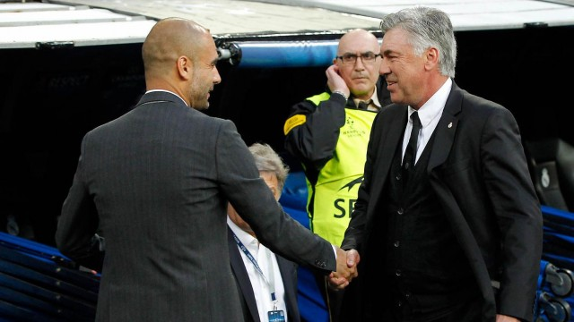 Guardiola - Ancelotti