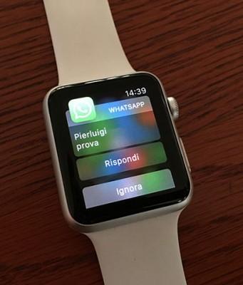 Apple Watch QuickReply WhatsApp