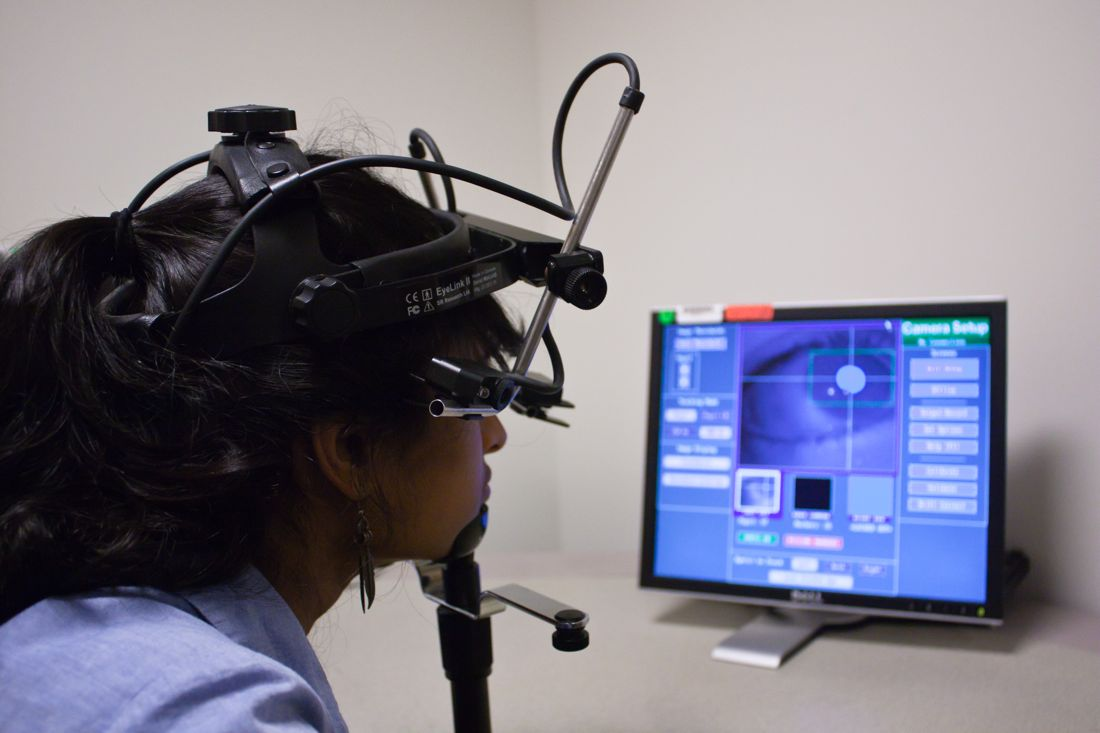 Dispositivo di Eye-Tracking.