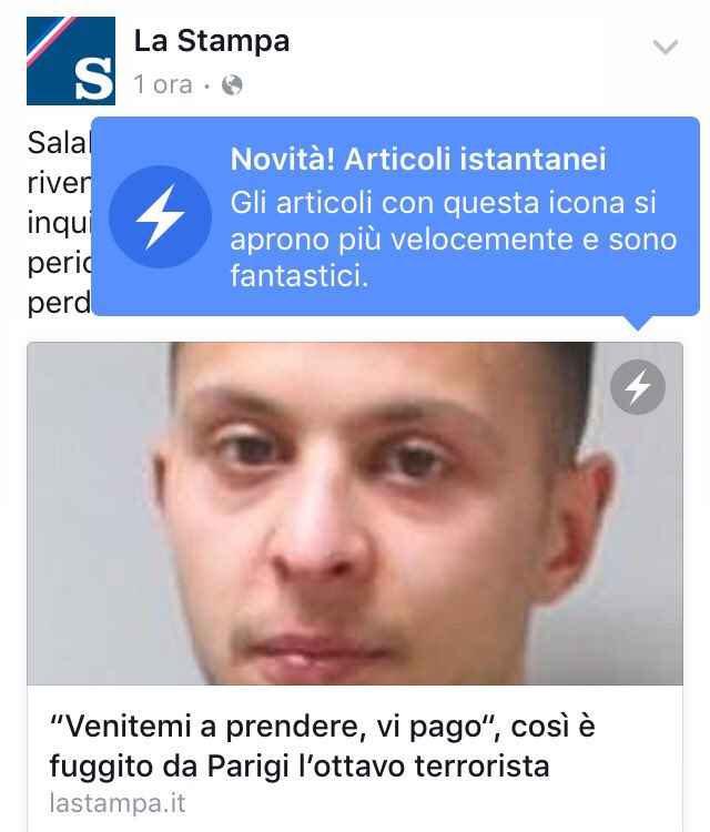 Instant Article La Stampa