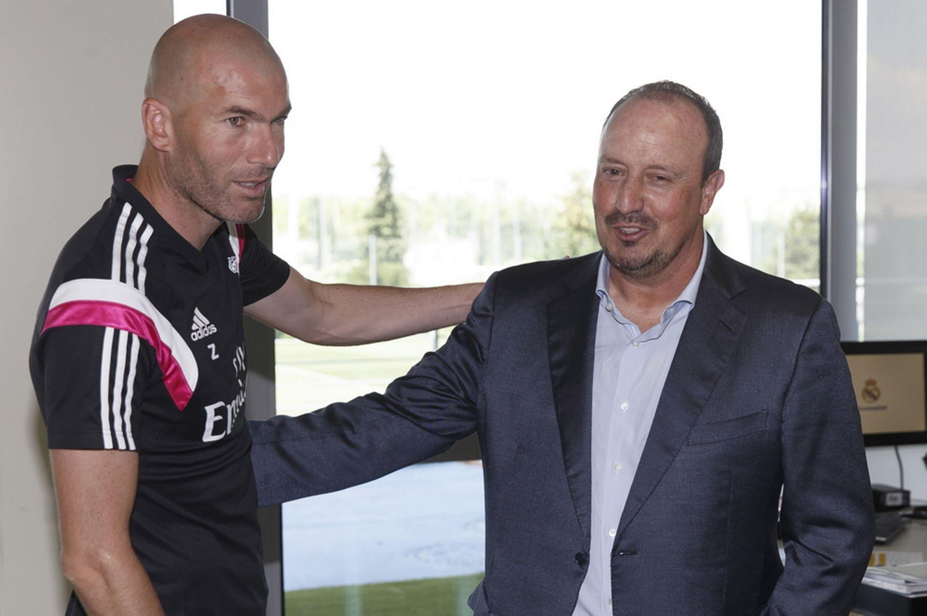 La posizione di Benitez è in dubbio. Come successore si parla di Zinedine Zidane.