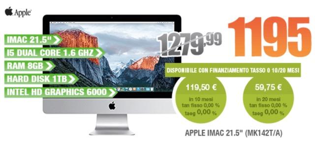 iMac offerta