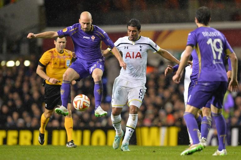 Fiorentina e Tottenham si sono sfidate anche nella scorsa edizione di Europa League.