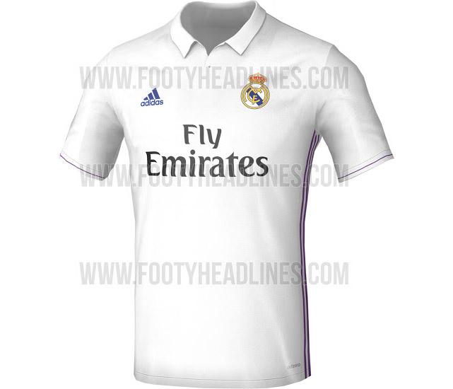 Nuova maglia Real Madrid 2016-2017