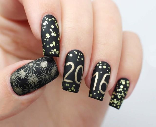 capodanno 2016 5 unghie a tema per festeggiare con stile
