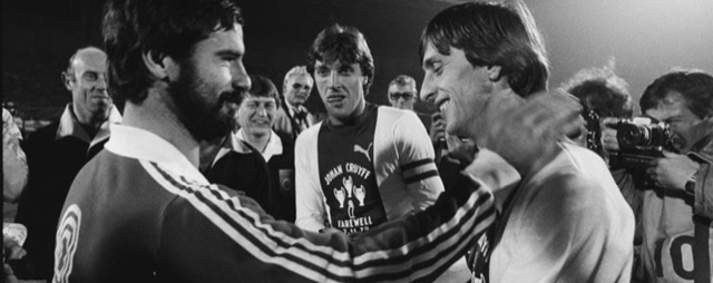 Johan Cruijff e Gerd Müller