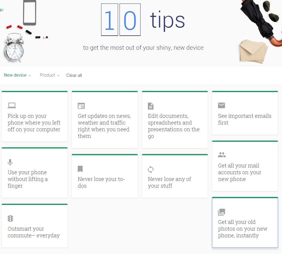 google tips 2