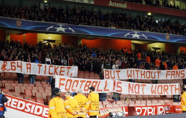 Protesta Bayern Monaco