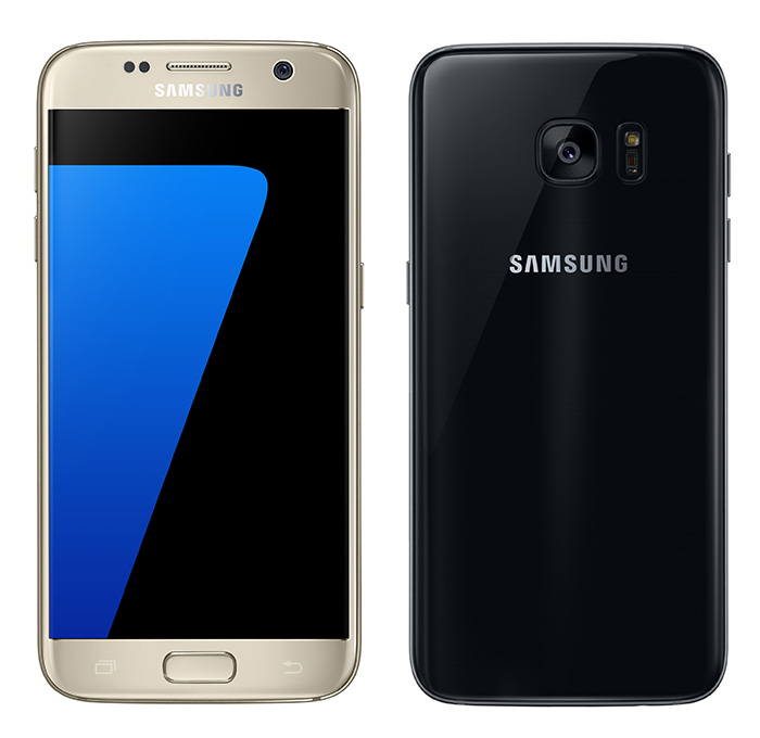 Galaxy S7 Gold e Black