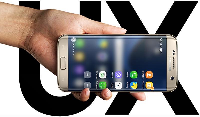 Galaxy S7 UX