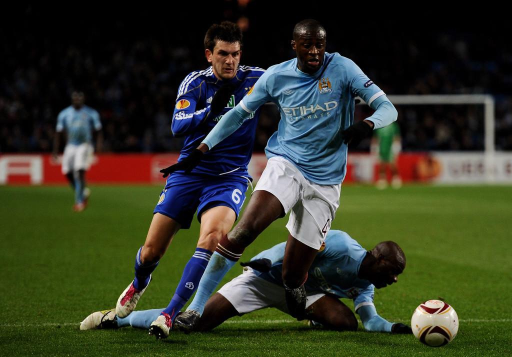 Manchester City e Dinamo Kiev si sono affrontati nel 2011.