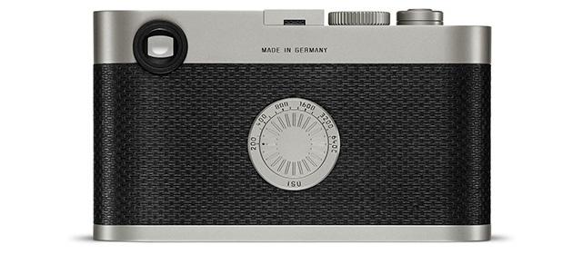 Vista posteriore della Leica M Edition 60.