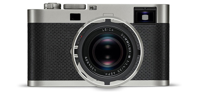 Vista frontale della Leica M Edition 60.