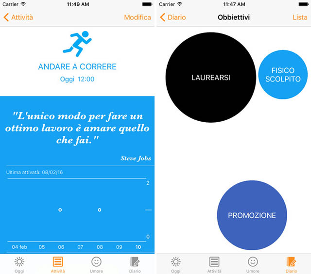 MotivateMe app