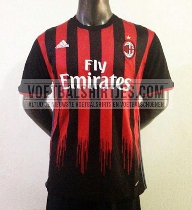 Milan maglia 2016-2017