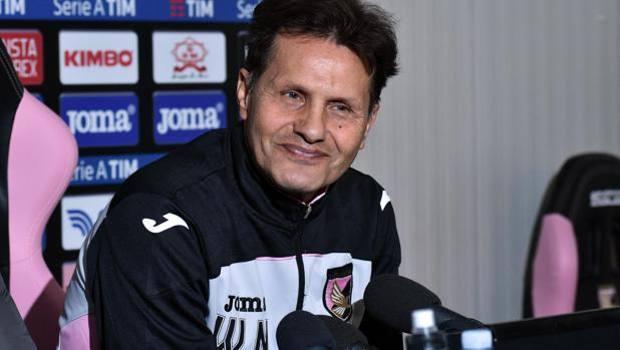 Walter Novellino, quarto tecnico stagionale del Palermo. A lui il compito di salvare i rimarrò