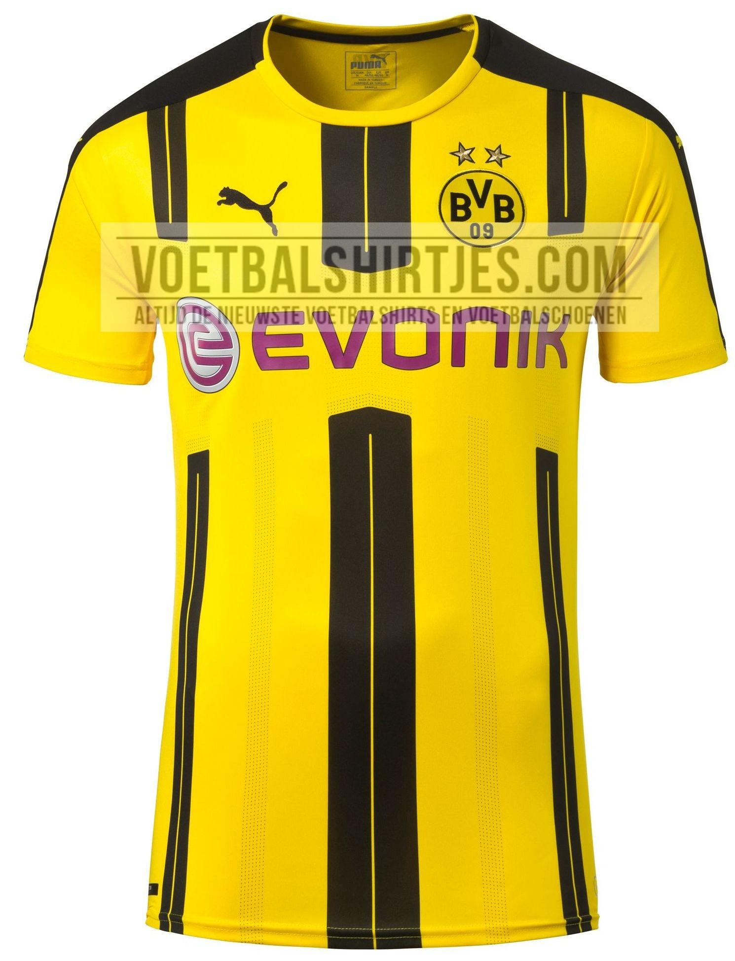 Dovrebbe essere questa la nuova maglia del Borussia Dortmund 2016-2017