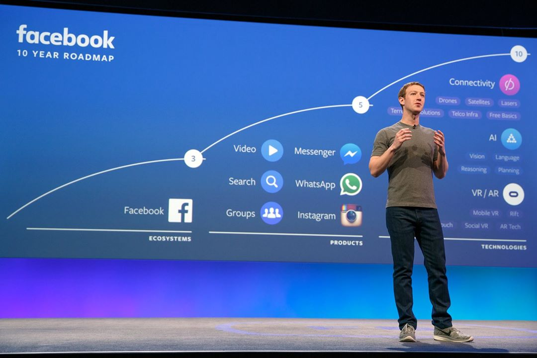 Mark Zuckerberg F8 2016