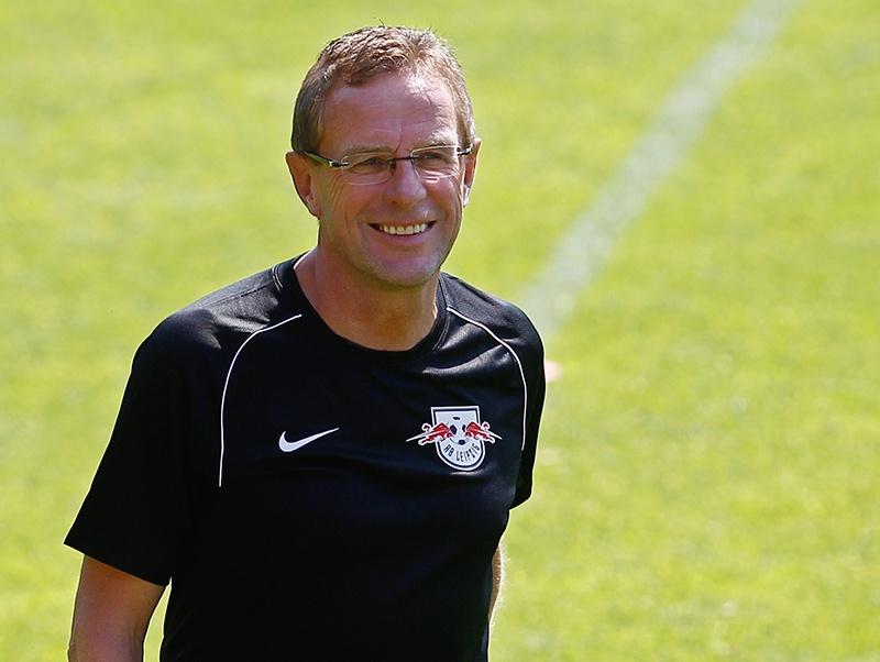 Il tecnico del RB Lipsia, Ralf Rangnick.