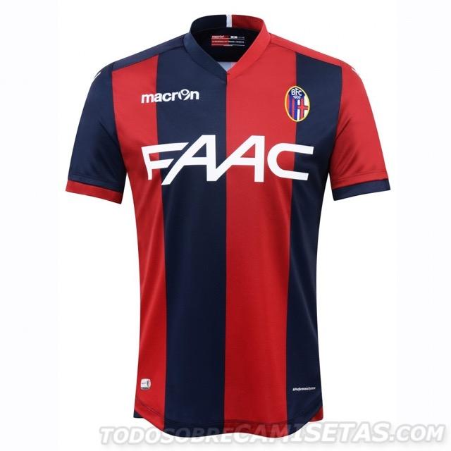 Ecco la prima maglia del Bologna FC per la stagione 2016/17.