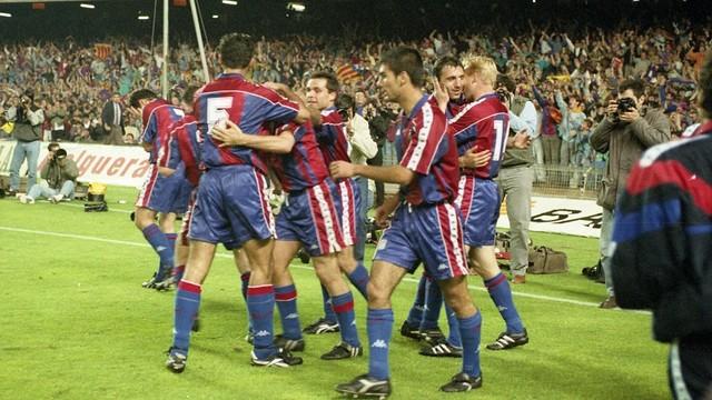 Barcellona campione all'ultima giornata di campionato.