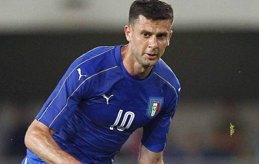 Thiago Motta, discusso numero 10 dell'Italia agli europei.