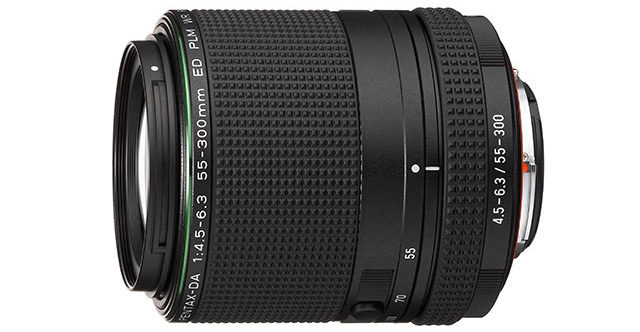 HD DA 55-300mm F4.5-6.3 ED PLM WR RE