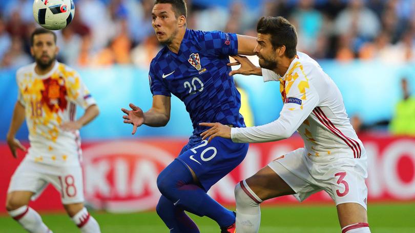 Marko Pjaca ha incantato a EURO 2016 nella gara vinta dalla Croazia contro la Spagna.