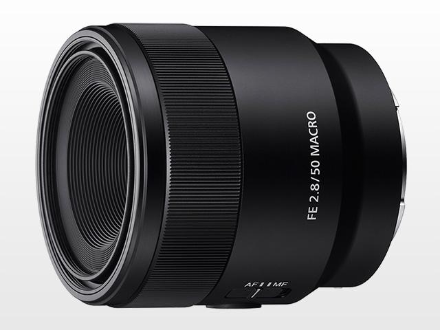 Sony presenta il nuovo obiettivo FE 50mm f/2.8 Macro