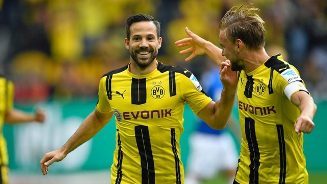 Bundesliga: il Dortmund ne segna altri 6, l'Amburgo soccombe contro un super Lipsia