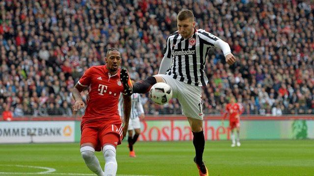 Eintracht - Bayern