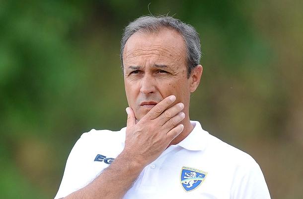Pasquale Marino è subentrato a Stellone alla guida del Frosinone.