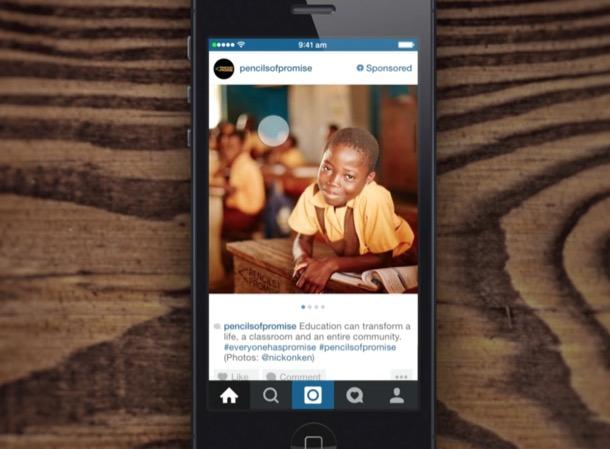 pubblicità su instagram