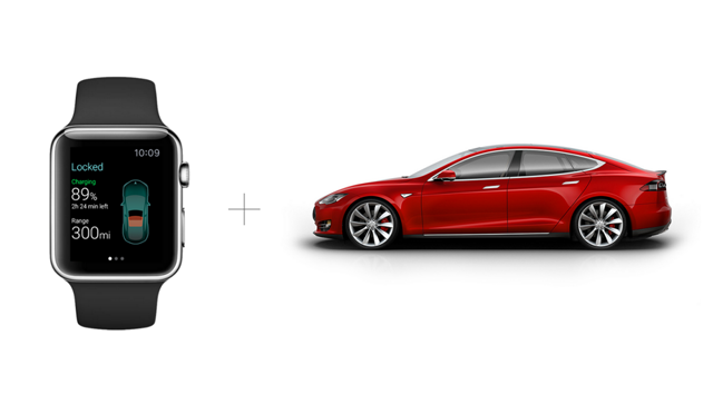 Tesla_AppleWatch