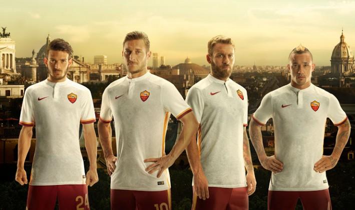 Roma seconda maglia 2015 2016