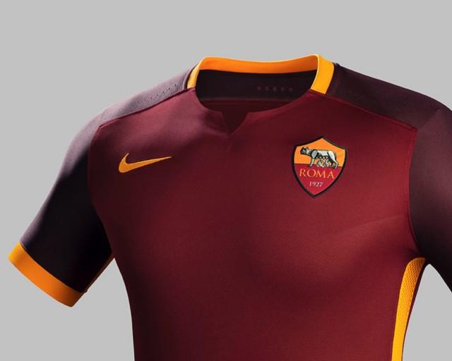 nuova maglia roma 2015 2016