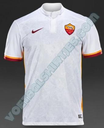 seconda maglia Roma 2015 2016